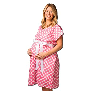Posh Pushers Maternity Hospital Gown Pretty Designer Labor And