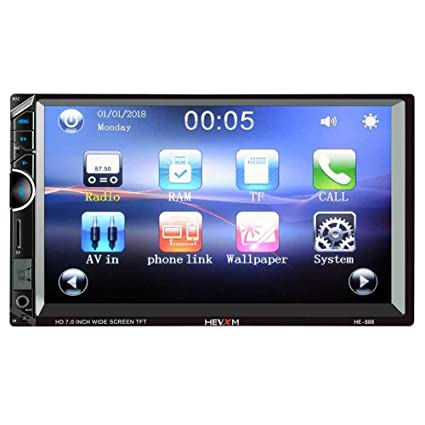 amazon com kobwa car stereo receiver,7 inches touch screen carkobwa car stereo receiver,7 inches touch screen car radio mp5 player,supports bluetooth