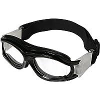 anteojos de baloncesto para niños, lentes transparentes, anteojos de deporte, anteojos de protección, anteojos resistentes a los impactos, anteojos con correa ajustable, diadema desmontable, anteojos deportivas