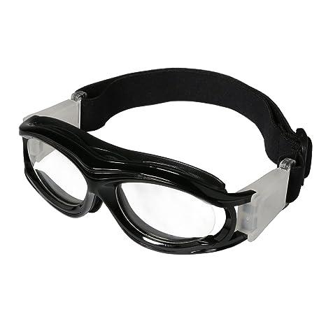 vendita calda online d643f cc4ab Occhiali sportivi da bambino, da esterni, protezione per gli occhi,  resistenti agli urti, lenti sostituibili con quelle graduate, con cinghia  ...