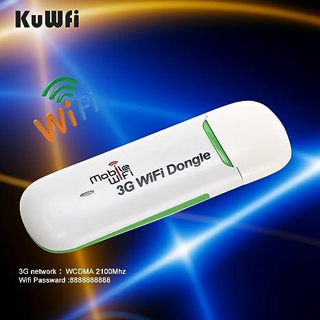 Amazon com: KuWFi Unlocked Smart Mobile 3G WIFI Dongle Mini USB WIFI