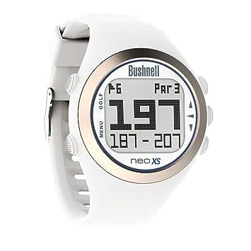Bushnell Neo XS Reloj, Unisex, Blanco