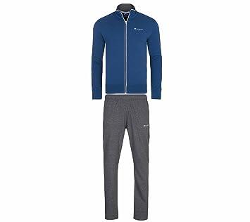 Champion Full Zip Suit Hombres chándal para niño Azul 210429 S17 ...