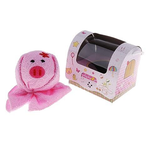 B Blesiya Toalla de Forma Animal Lindo para Bebés Productos de Boda Cumpleaños Fiesta Cocina -