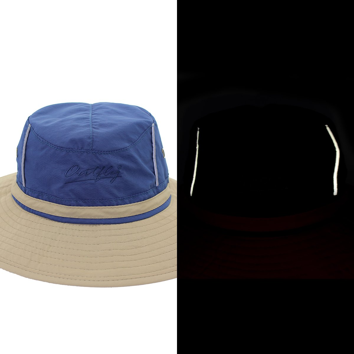 UV50/+ riflettente da pesca cappello a tesa larga Unisex per l/'estate