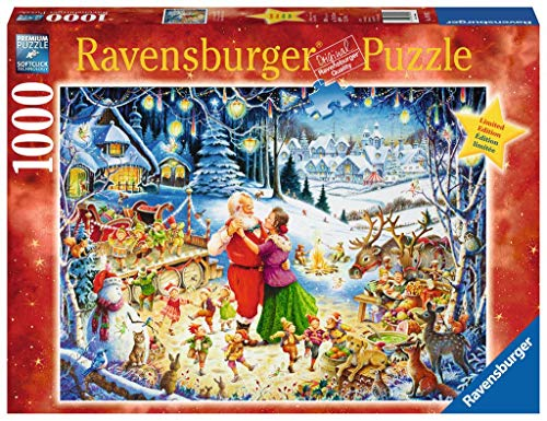 Santa's Christmas Party, 1000 Piece Limited Edition Jigsaw Puzzle, Made by Ravensburger