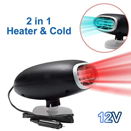2-in-1 Electronic Car Heater