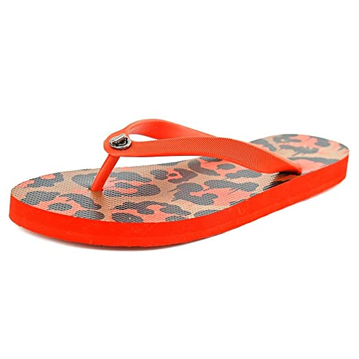 Womens Sandals COACH Alyssa Dark Orange/Orange/Rubber/Wild Beast