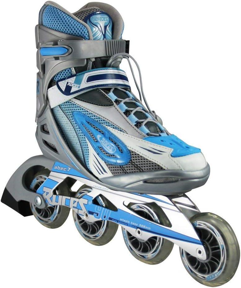 Roces Womans Inline Outdoor Skates Silver//Blue R-300