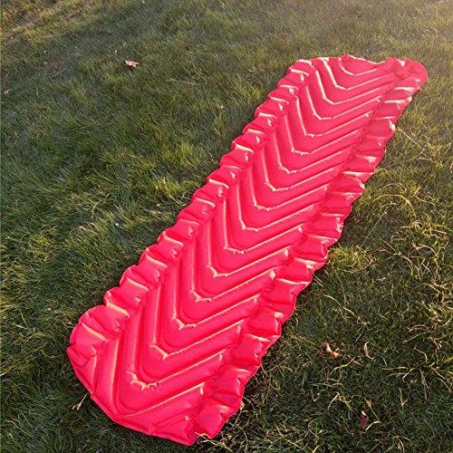 Outdoor Super Light Camping aufblasbaren Schlafmatte Camping Zelt Schlafmatte Portable Feuchtigkeits-Proof Mat