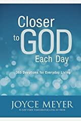 Closer to God Each Day Hardcover
