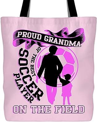 Mejor Grandma en el mundo-Bolsa de Hombro Algodón Natural-Regalo Día del Abuelo