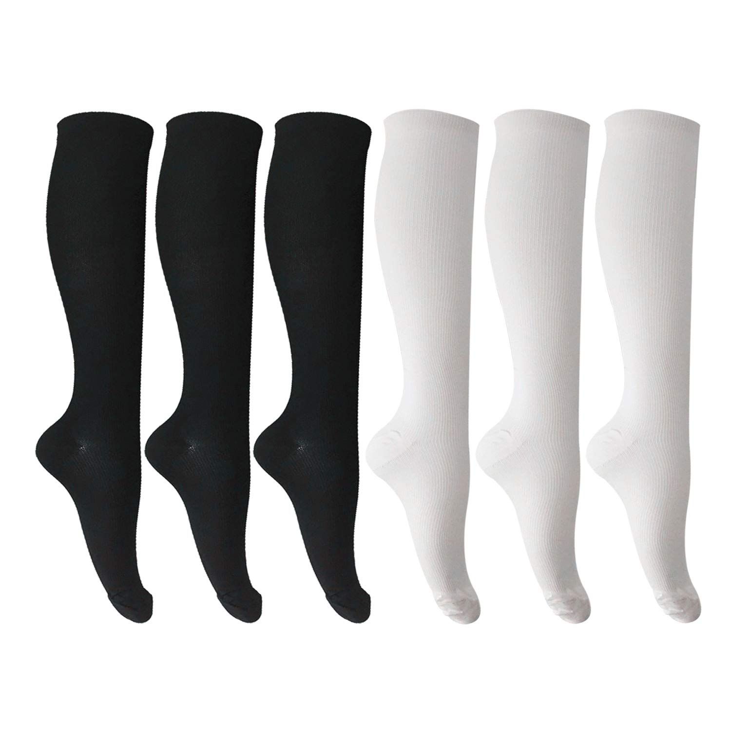 64fb3cd19fa471 Our knee high compression socks with upgraded nylon material which is  perfectly breathable, swift moisture-wicking qualities will shield against  the ...