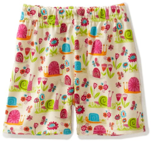 Zutano Baby Girls' Garden Snail Short