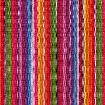 Fabulous Fabrics Webstoff Sancho Pancho – rot — Meterware ab 0,5m ...