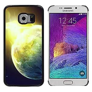 Stuss Case / Funda Carcasa protectora - Sun Star Space Cosmos Explosion Planets Art - Samsung Galaxy S6 EDGE SM-G925