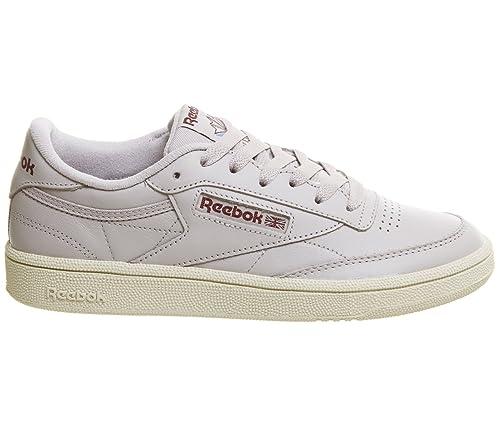 Reebok Club C 85, Zapatillas para Mujer, Blanco (White/Light Grey/Gum 0), 38.5 EU