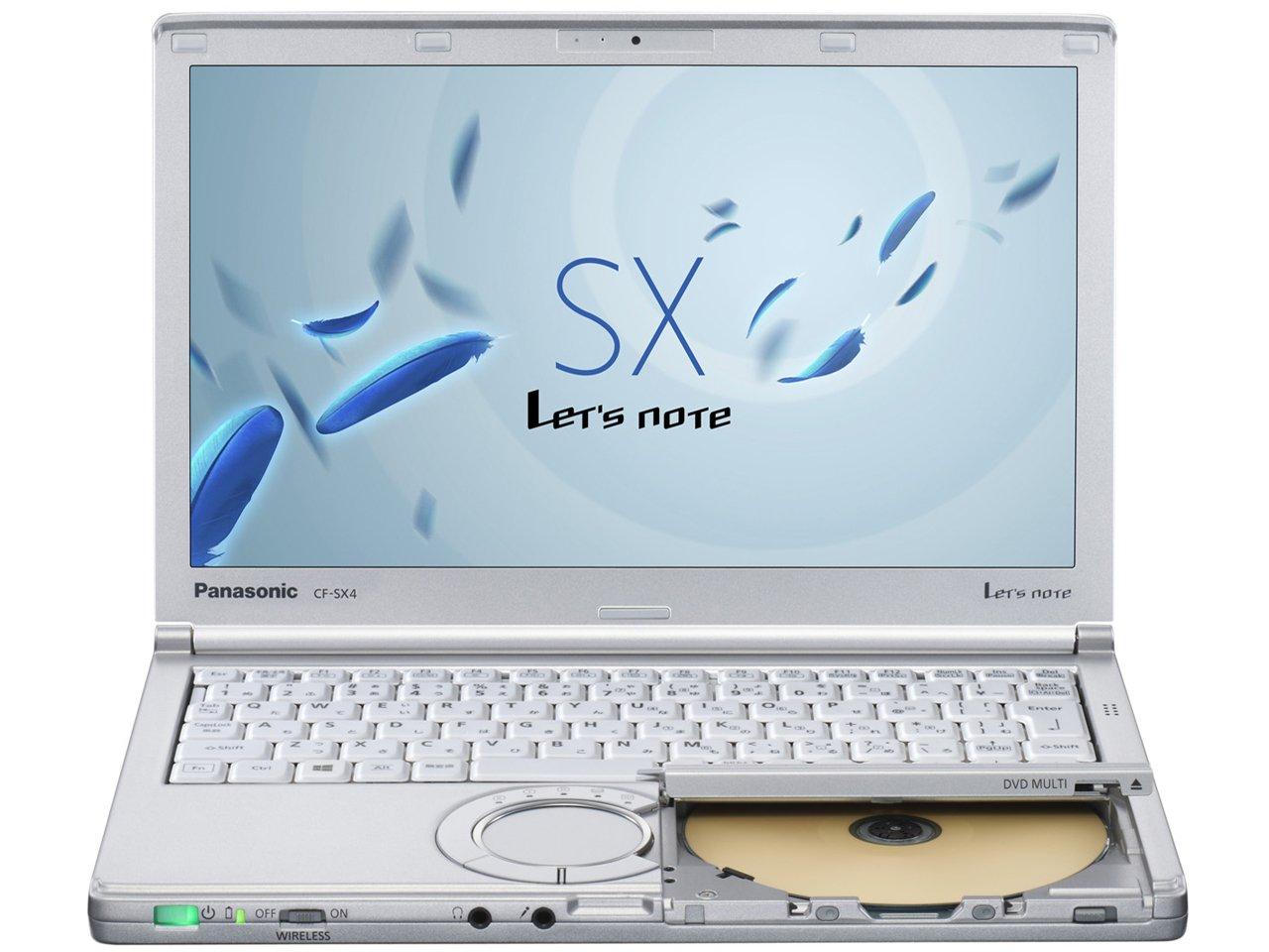超安い PANASONIC CF-SX4EDHCS Let's note PANASONIC 12.1 SX4 [ノートパソコン 12.1 note B00SWFTV5A, ユキポート:85b7ec15 --- arianechie.dominiotemporario.com