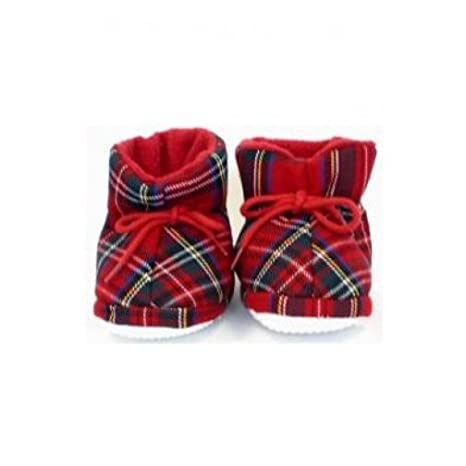 Glen Appin Tartan Shoes with Bow