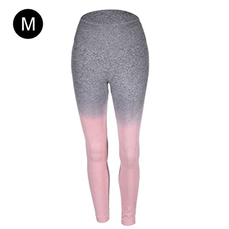 Hete-supply Pantalones de Yoga degradados para Mujer, Pantalones ...