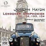 Haydn: London Symphonies Nos. 102, 103 & 104 [CD + Hybrid SACD]