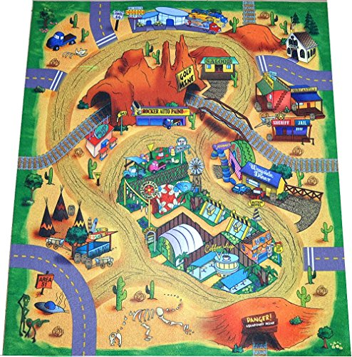 Cowboys Indians Desert Tracks Tunnels product image