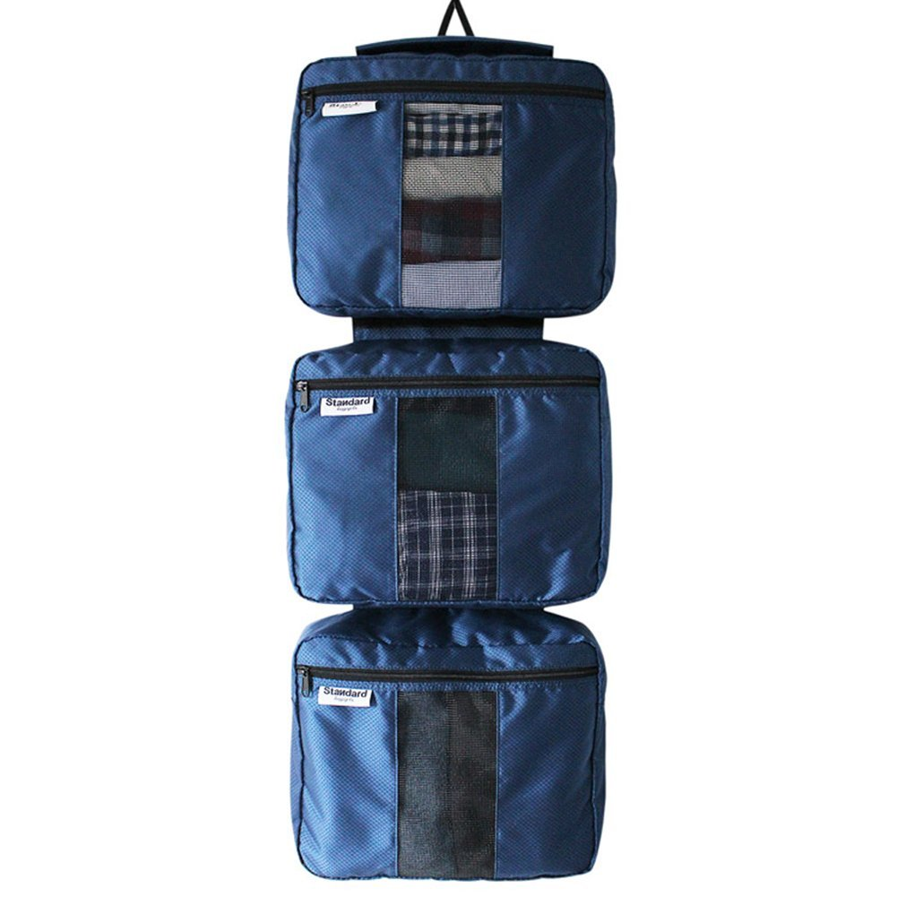 Hanging Packing Cubes - 3pcs Organizer Set for Luggage and Travel