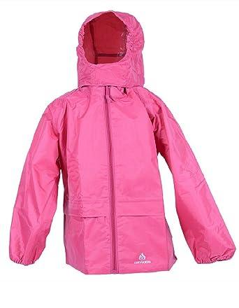 672ffb896 DRY KIDS Ladies Waterproof Packable Jacket. Rainwear for Women. Navy ...