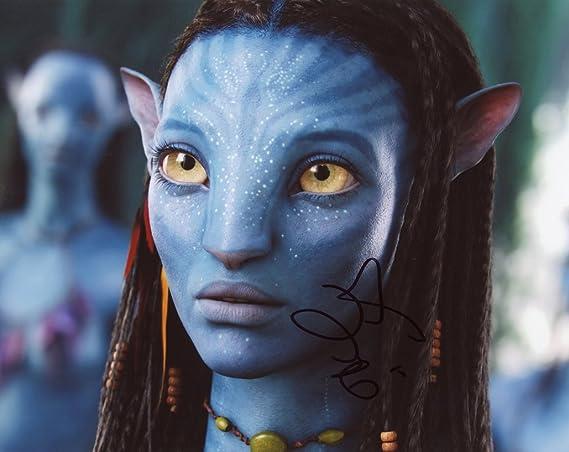 Zoe Saldana Avatar Autograph Signed 8x10 Photo At Amazon S