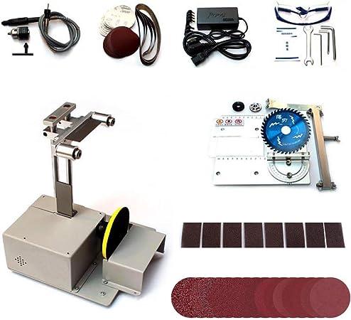 Bespick - Mini sierra circular de mesa, 4 en 1, profesional ...