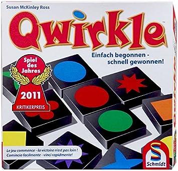 Schmidt Spiele - Juego de Mesa Qwirkle para 6 años y más (49311 ...