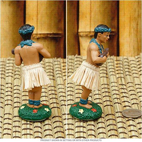 Hawaiian Hula Boy with Ukulele Miniature Dashboard Doll by KC Hawaii