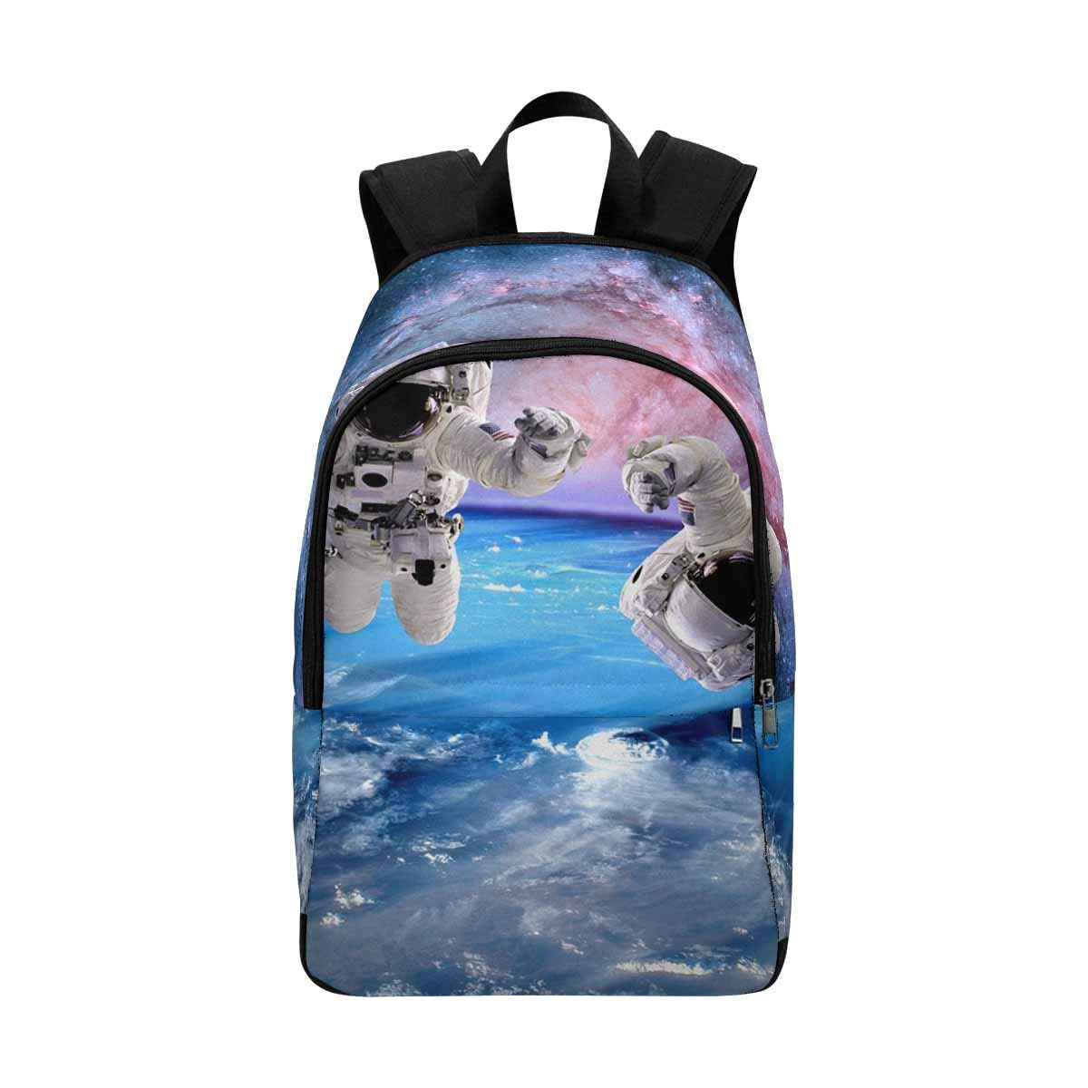 InterestPrint Astronaut Spaceman Outer Space Moon Planet Solar System Universe College Bookbag Shoulder Daypack