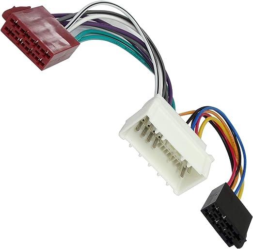 AERZETIX - Cable adaptador - Enchufe ISO H9 - Para autoradio - C2003