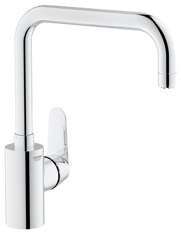 Grohe Eurodisc Cosmopolitan 31242002 1/2-inch High Spout Sink Mixer ...