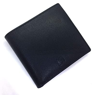 low priced 4b045 c0bc6 Amazon   (ロエベ)LOEWE コンパクト 二つ折り財布 レザー メンズ ...