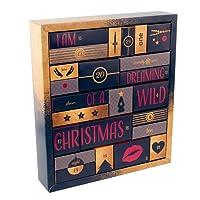 Adventskalender 2018 - erotischer Weihnachtskalender für Erwachsene, perfekte Geschenkidee, 24 Türchen mit Sex-Toys, Dessous, Kondomen, Gleitgel und vielem mehr