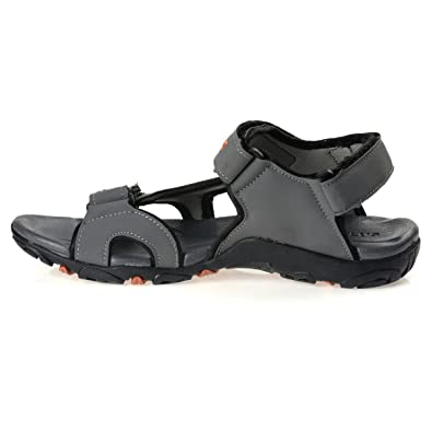 ef855b673 PARAGON Stimulus Men's Grey Sandals: Buy Online at Low Prices in India -  Amazon.in