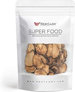 NESTLADY Maca Slice Peruvian Root Premium Grade Superfood (Raw) 秘鲁黑玛卡干片 补充体力抗疲劳 男性强力保健品 70g / 2.47oz