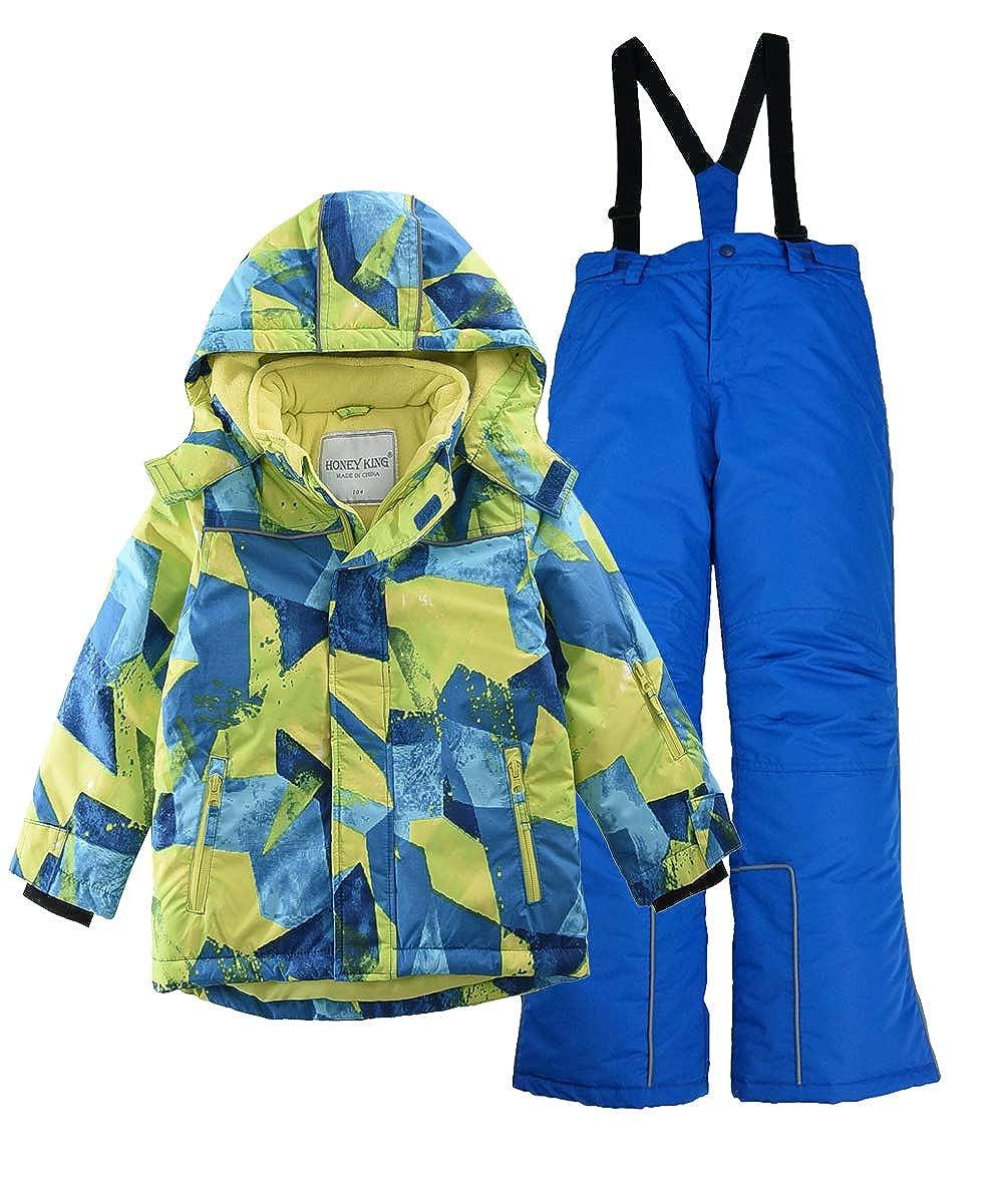 M2C Boys Hooded Thicken Warm Ski Snowsuit Jacket & Pant CBHX01CAB