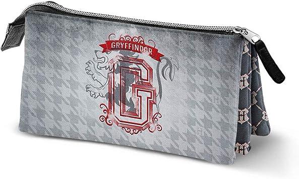 Karactermania Harry Potter Emblem Gryffindor, Estuches, 24 cm, Gris: Amazon.es: Equipaje