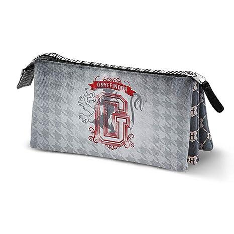 Karactermania Harry Potter Emblem Gryffindor, Estuches, 24 cm, Gris