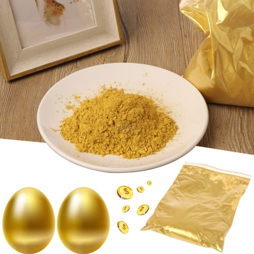 JohnnyBui - Gold Pigment Pearl Powder Acrylic Paint Dye Paint Coating Art Crafts Color MAY12 ping by JohnnyBui