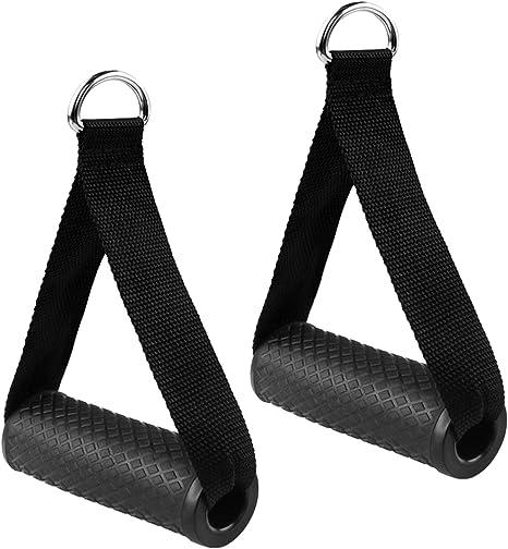 Zuzer 6pcs Mango de Resistencia Asas de Repuesto para Correa de Ejercicios para Fitness Asa de Repuesto de Cuerda de Tracci/ón