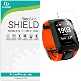 [6-PACK] RinoGear for TomTom Adventurer Screen Protector [Active Protection] Full Coverage Flexible HD Invisible Clear Shield Anti-Bubble Film
