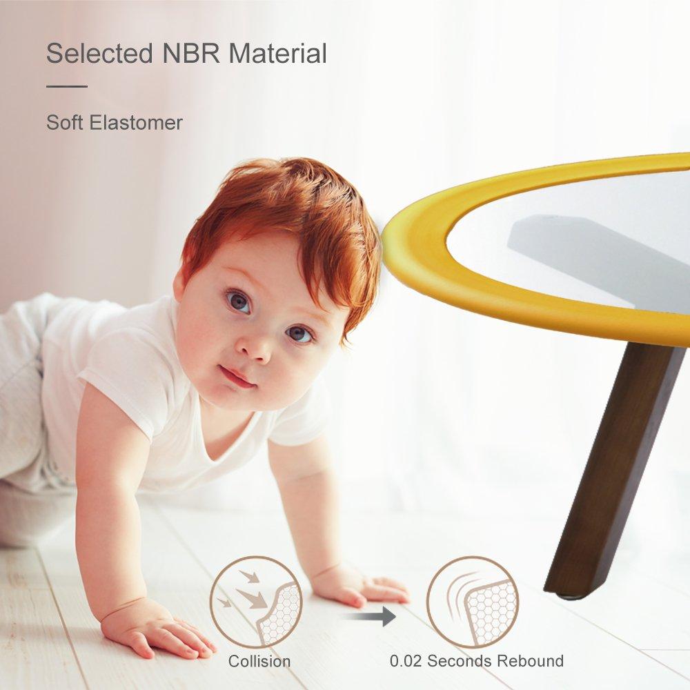 Kind Kinder Beweis Baby Wache TRITINA Glas Tisch Ecken- /& Kantenschutz 2m U Typ Eckkissen Runde Kaffee Schreibtisch Startseite Sicherheit 1 Beige