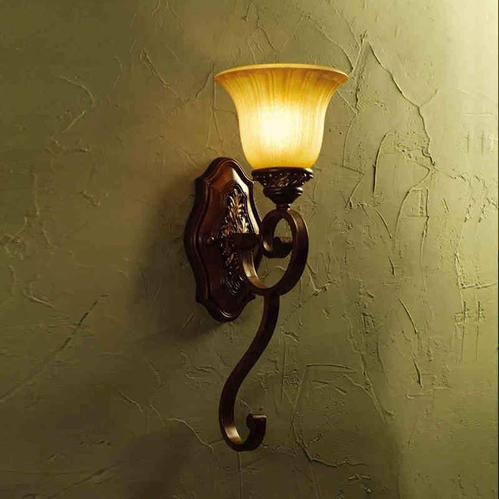 YANG Applique Vintage Retro Iron Antique Applique Chambre Salle De ...