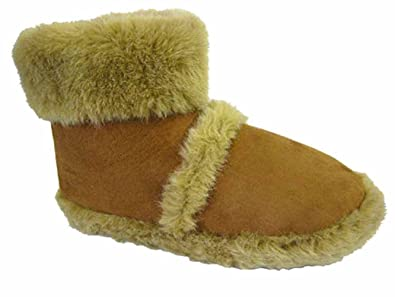 Affordable Mens Cooler Brand Snugg Microsuede Boot Slipper Thick Fluffy Collar & Lining 58x