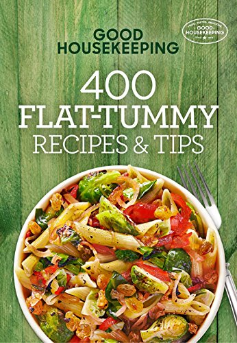 Good Housekeeping 400 Flat-Tummy Recipes & Tips (400 Recipe) cover