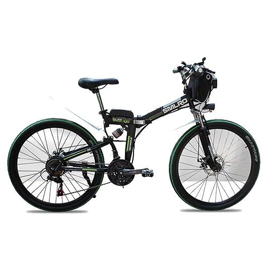 Dapang Bicicleta de montaña eléctrica de 48 voltios, Bicicleta ...